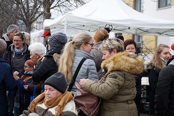 Der Weihnachtsmarkt in Apfelstädt